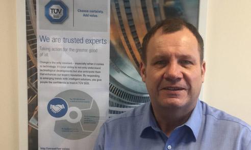 Process leader Austin replaces retiring Valente as TUV SUD